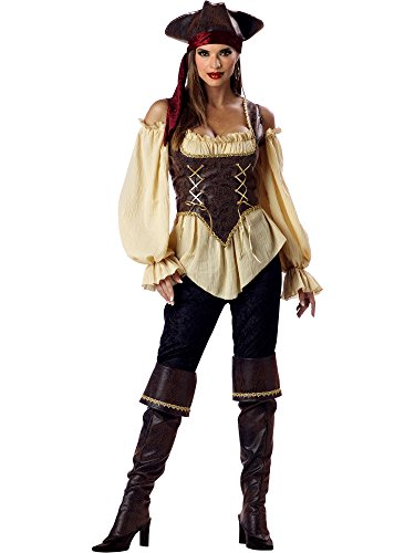 InCharacter Costumes Women's Rustic Pirate Lady