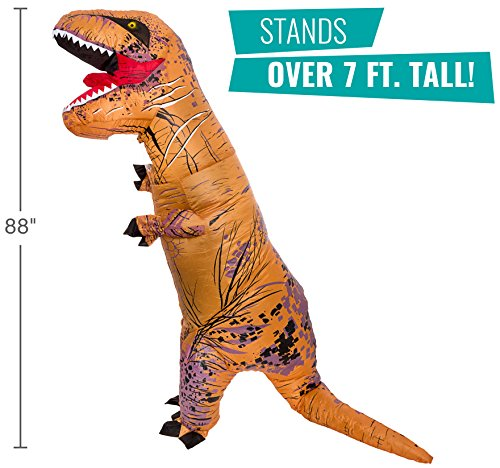 inflatable dinosaur costume adult giant jurassic t rex