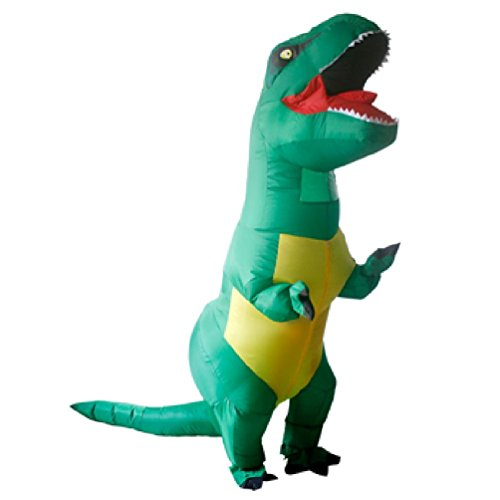 inflatable dinosaur costumes for adults kids t rex dinosaur rider blow up outfit men women