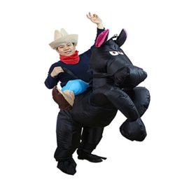 Inflatable-Western-Cowboy-Piggyback-Horse-Costume-Adult-Halloween-Party-Blow-up-Suit-0