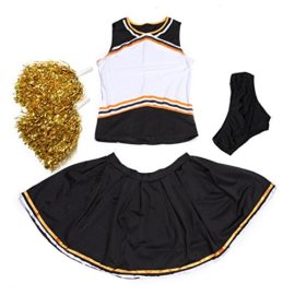 Iron-on-PRINT-BY-SELF-BLANK-CHEER-GIRL-2-pcs-Cheerleader-Costume-Outfit-0-1