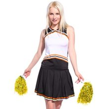 Iron-on-PRINT-BY-SELF-BLANK-CHEER-GIRL-2-pcs-Cheerleader-Costume-Outfit-0