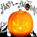 Jack-O-Lantern-Halloween-Pumpkin-Decor-Lantern-with-Battery-Operated-Adjustable-Timer-Function-for-Halloween-Decorations-by-HANPURE-0