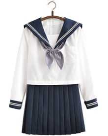 Japanese-School-Uniform-Adult-Women-Halloween-Sailor-Cosplay-Costume-Outfit-Long-Sleeve-0