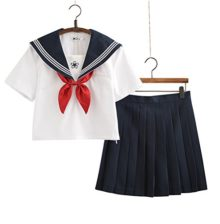 Japanese-School-Uniform-Cosplay-Women-Girls-Halloween-Anime-Sailor-Costume-Outfits-with-Bow-Tie-White-Navy-0