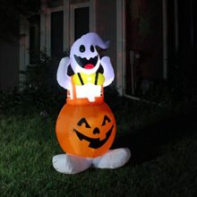 Joiedomi-Halloween-Blow-Up-Inflatable-Ghost-in-Pumpkin-Skirt-for-Halloween-Outdoor-Yard-Decoration-45-ft-Tall-0
