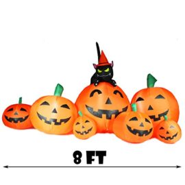 Joiedomi-Halloween-Inflatable-Blow-Up-7-Pumpkins-with-Witchs-Cat-8-Ft-Wide-0-3
