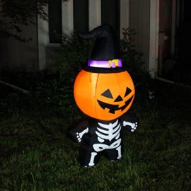Joiedomi-Halloween-Inflatable-Blow-Up-Pumpkin-Skeleton-with-a-Witch-Hat-for-Halloween-Outdoor-Decoration-5-ft-Tall-0-2