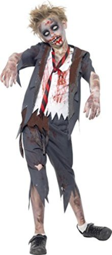 KULTFAKTOR-GmbH-Big-Boys-Zombie-School-Halloween-Costume-0