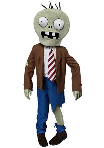 Kids PLANTS VS ZOMBIES Zombie Costume Small