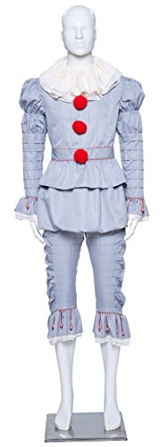 LIME-FLARE-Adult-Kids-Halloween-Clown-Cosplay-Costume-Party-Outfit-0