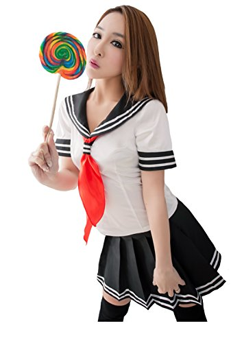 LINGERIECATS White Cute shirt cottish School Student SweetHeart Cosplay Costume