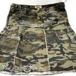 LUCY-collection-ladies-Sexy-A-line-Ruffled-Army-camo-Camouflage-jean-skirt-0-4