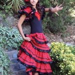 La-Senorita-Spanish-Flamenco-Dress-Fancy-Dress-Costume-Girls-Kids-Black-Red-0-2