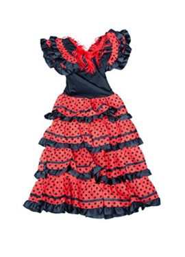 La-Senorita-Spanish-Flamenco-Dress-Fancy-Dress-Costume-Girls-Kids-Black-Red-0-6