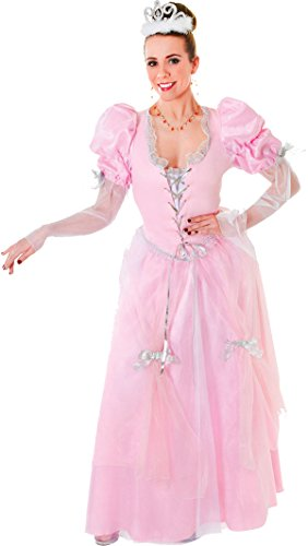 Ladies-Adult-Panto-Queen-Fancy-Party-Outfit-Fairytale-Princess-Cinderella-Dress-0