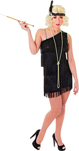 Ladies Adults 1920s Fancy Costume Party Outfit Charleston Flapper Gatsby Dress