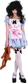 Ladies-Halloween-Horror-Fancy-Dress-Party-Outfit-Zombie-School-Girl-Costume-0