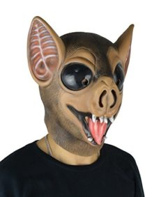 LarpGears-Novelty-Halloween-Costume-Party-Latex-Animal-Mask-Cute-Bat-Mask-Adult-Size-0