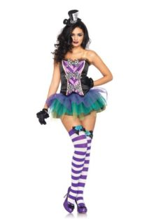 Leg-Avenue-3-Piece-Tempting-Mad-Hatter-Halter-Bustier-Tutu-Skirt-And-Head-Piece-0