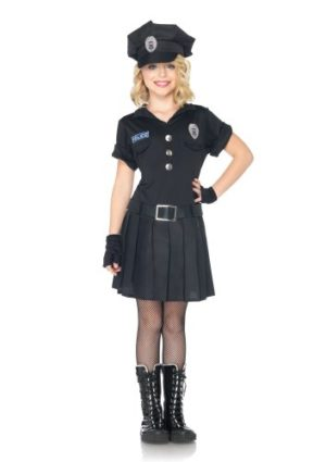 Leg-Avenue-Costumes-3PcPlaytime-Police-Dress-with-Attached-Belt-Gloves-and-Hat-0