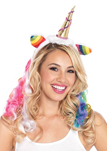 Leg Avenue Costumes Rainbow Unicorn Headband