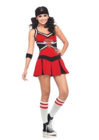 Leg-Avenue-NBA-2-Piece-Chicago-Bulls-Cheerleader-Dress-RedBlack-SmallMedium-0