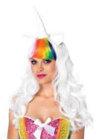 Leg-Avenue-Unicorn-Kit-Wig-with-Adjustable-Elastic-Strap-Rainbow-Tail-0