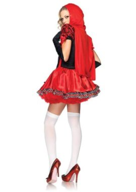 Leg-Avenue-Women-S-Divine-Miss-Dress-With-Padded-Bra-And-Attached-Hood-0-0