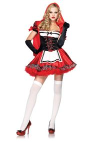 Leg-Avenue-Women-S-Divine-Miss-Dress-With-Padded-Bra-And-Attached-Hood-0