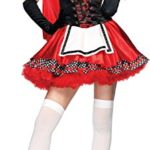 Leg-Avenue-Women-S-Divine-Miss-Dress-With-Padded-Bra-And-Attached-Hood-Multicoloured-Small-0