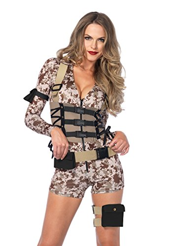 Leg Avenue Women's Battlefield Babe Costume