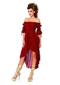 Leg-Avenue-Womens-High-Low-Peasant-Dress-0