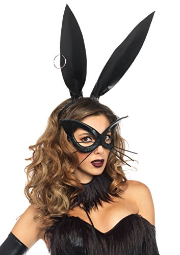 Leg Avenue Women's Oversized Bunny Mask
