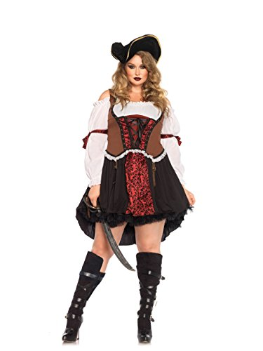 Leg Avenue Women's Plus-Size Ruthless Pirate Wench
