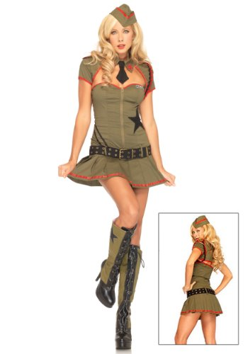 Leg Avenue Women's Private Pin Up Costume