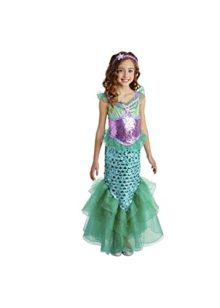 Little-Girls-Mermaid-Costume-Dress-0