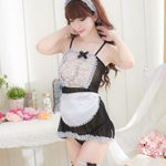 MEshop-Japanese-Maid-Costume-Sexy-Maid-Lingerie-Apron-Halloween-Costume-for-Women-0-0