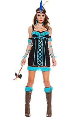 MUSIC-LEGS-Womens-Native-Princess-0