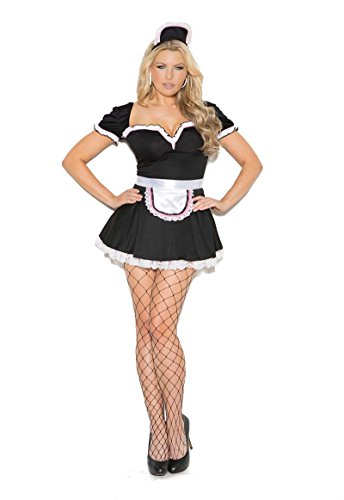 Maid To Please Costume, Sexy Maid Halloween Costume