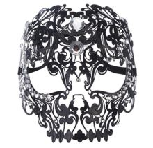 Masquerade-Mask-Mardi-Gras-Costume-Mask-Halloween-Cosplay-Metal-Party-Mask-0