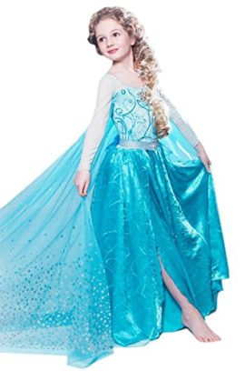 Maxi-Real-Snow-Queen-Elsa-Dress-Costume-for-Girls-3-9-Years-0-0