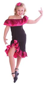 Medium-Black-Pink-Girls-Flamenco-Girl-Costume-0