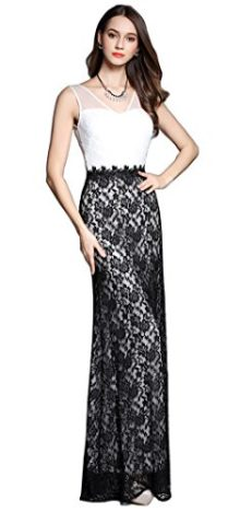 Merope-J-Womens-Double-V-Neck-Lace-Full-Length-Sleeveless-Wedding-Dress-0