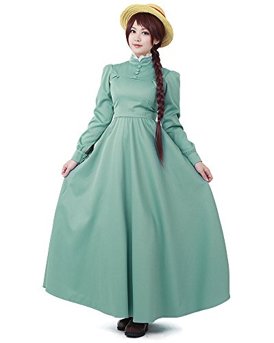 Miccostumes Women's Howl's Moving Castle Sophie Hatter Cosplay costume