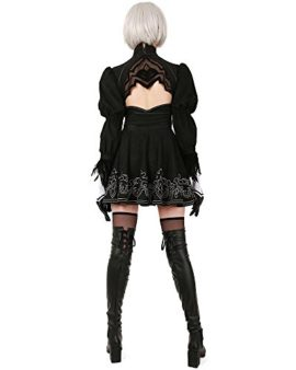 Miccostumes-Womens-No-2-Type-B-Cosplay-Leotard-Skirt-with-Mask-Hairband-Leggings-0-1