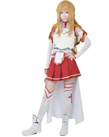 Miccostumes-Womens-SAO-Asuna-Yuuki-Costume-with-Three-dimensional-Breastplate-0