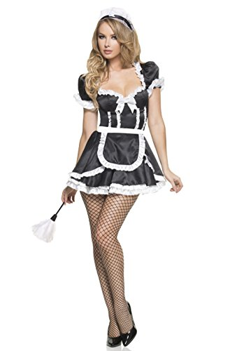 Mystery House Women's Flirty French Maid