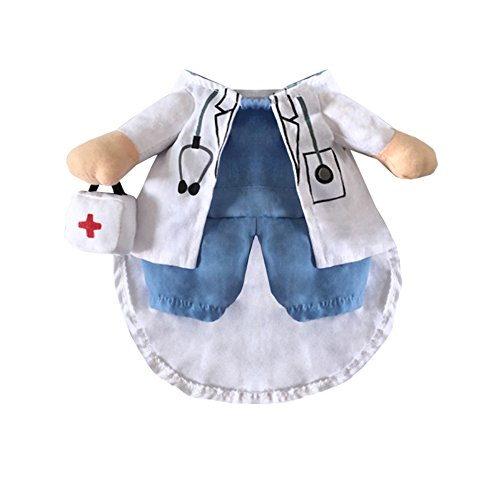 NACOCO-Dog-Cat-Doctor-Costume-Pet-Doctor-Clothing-Halloween-Jeans-Outfit-Apparel-0-2