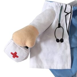 NACOCO-Dog-Cat-Doctor-Costume-Pet-Doctor-Clothing-Halloween-Jeans-Outfit-Apparel-0-4